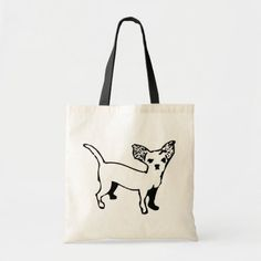 Chihuahua Tote Bag   deer chihuahua, chihuahua valentine, chihuahua bed #chihuahuabetty #chihuahuapets #chihuahuapeanut Chihuahua Tattoo, Chihuahua Terrier, Chihuahua Puppies, Budget Fashion, Dog Treats, Design Your Own, Pet Dogs, Reusable Tote Bags, Humor