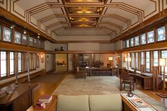 Frank Lloyd Wright: Living room from the Little House, Wayzata, Minnesota (1972.60.1) | Heilbrunn Timeline of Art History | The Metropolitan Museum of Art