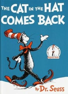 Check out Dr Seuss Books--Cat in the Hat Comes Back--Classic Childrens Book-- off Patterns n Book SALE on altcollect Library Books, My Books, Library Cards, Theodor Seuss Geisel, Back Read, Beginner Books, Cat Hat, Free Books, Comebacks
