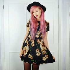 So pretty, wish I could pull this off