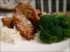 Crispy Orange Beef w/ Broccoli