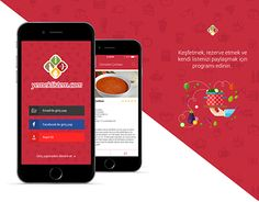 """Check out new work on my @Behance portfolio: """"Eat List - Mobil App"""" http://be.net/gallery/33150045/Eat-List-Mobil-App"""
