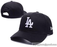 Los Angeles Dodgers Baseball Caps Black 100% COTTON