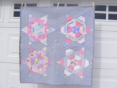 A beautiful baby quilt I made