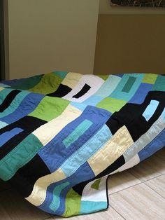 City Scapes | Original quilt pattern using Kona Cottons | Cherri House | Flickr