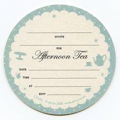 Co163 - afternoon tea back