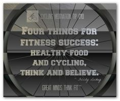 You can get more cycling motivation @ bikecyclingreviews.com