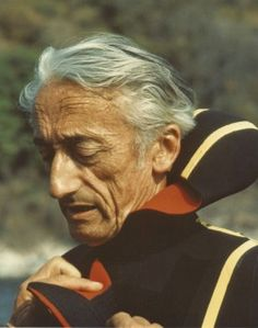 Monsieur Jacques-Yves Cousteau. I couldn't wait to watch the Undersea World of Jacques Cousteau!