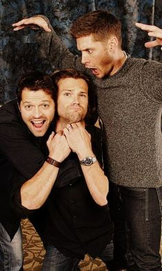 Supernatural! Dean Sam Castiel Jensen Jared Misha