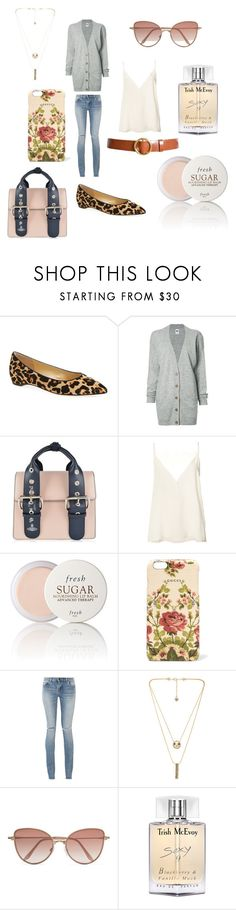 """""""Morning Date"""" by giannilachica ❤ liked on Polyvore featuring Ivanka Trump, NSF, Vivienne Westwood, Anine Bing, Fresh, Gucci, Yves Saint Laurent, House of Harlow 1960, Cutler and Gross and Trish McEvoy"""