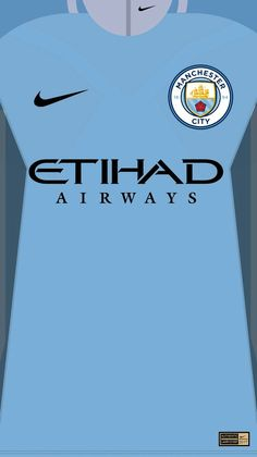 Manchester City 17-18 kit home