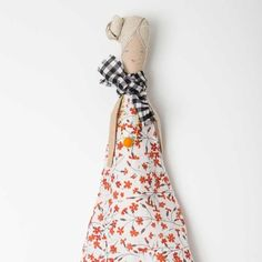 H Luv Fabrications: Soft Sculpture Amanda Rag Doll, 17.5 Inches #MarthaStewartAmericanMade