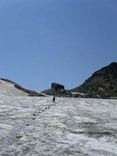 2003, Saas-Grund, Zwitserland, Hohsaas, Hiking.