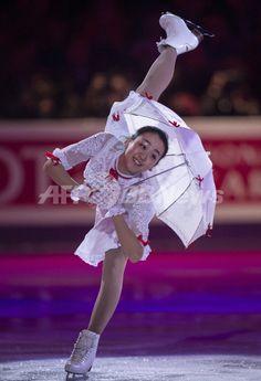 浅田、高橋らがエキシビションに登場 世界フィギュア 国際ニュース:AFPBB News