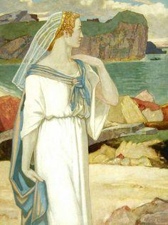 John Duncan 1866-1945 | Scottish Symbolist painter