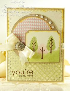 TRENDY TREES, UPSY DAISY, INSPIRED BY STAMPIN' UP!