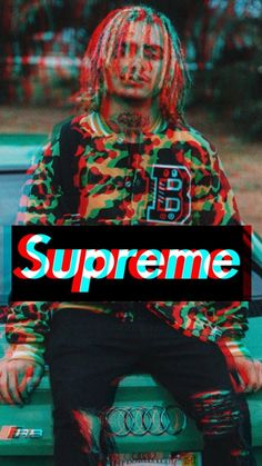 Lil Pump x Supreme Glitch Wallpaper, Nike Wallpaper, Tumblr Wallpaper, Cool Wallpaper, Migos Wallpaper, Supreme Iphone Wallpaper, Cellphone Wallpaper, Dope Wallpapers, Hypebeast Wallpaper