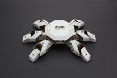 Zoobotics ZURI is a programmable robot made from paper and grey cardboard. Futuristic Technology, Technology Design, Technology Gadgets, Drones, Cardboard Robot, Military Robot, Programmable Robot, Learn Robotics, Robotics Projects