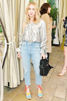 L.A.'s coolest It girls gathered at Chateau Marmont for a party hosted by Net-A-Porter and stepped out the best lunch outfit inspiration.