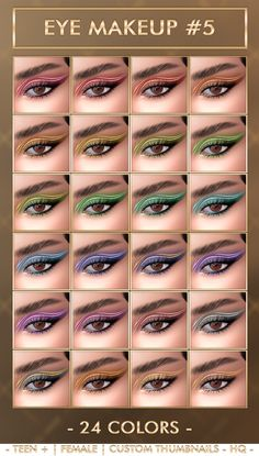 Kylie eye makeup #5 - Sims 4 Updates -♦- Sims 4 Finds & Sims 4 Must Haves -♦-