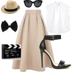 """Film Festival Set"" by agatadrelova on Polyvore"