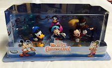 Disney Mickey's Christmas Carol - Special Edition Figurine Playset Toy - New