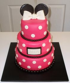 minnie mouse cakes | denbypetty: Minnie Mouse Cake! ... - Disney Cakes