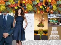 fall weddings color schemes - Google Search