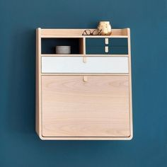 Bureau Design, Wall Mounted Desk, Folding Desk, Storage Mirror, Study Areas, Floating Nightstand, Home Office, Sweet Home, House Design
