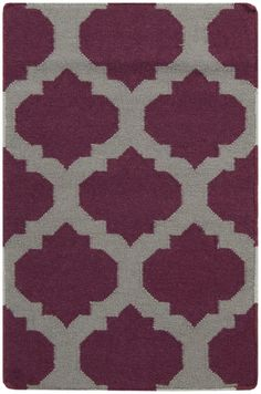 Surya FT115 Frontier Flat Weave Violet (Purple) - All Rugs - Rugs | Furniture, home decor, wall decor, rugs, lamps, lighting outlet.