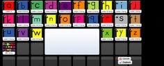 Song and video for every letter that teaches the letter and sounds from Have Fun Teaching. Symbaloo mix is easy for kids to use at home or school.