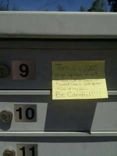 """guess the tenant in #9 has no other choice but to abandon their mail and move"" bahahahahah"