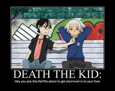 THIS FIST ~ Soul Eater ~ Death The Kid, Soul. Yo, yo, yo, Death... I love you, like, a lot.. but if you even dare punch Soul... u dead