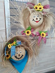 Linda festa Autumn Crafts, Thanksgiving Crafts, Holiday Crafts, Easy Fall Wreaths, Holiday Wreaths, Fall Halloween, Halloween Crafts, Manualidades Halloween, Crafts For Seniors