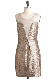 Taupe and Dream Dress, #ModCloth