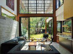 Renovated Queenslander cottage by Architect Caroline Stalker and Designer Bruce Carrick of Lookout Design