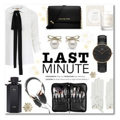 """""""Last-Minute Holiday Gifts"""" by helenevlacho ❤ liked on Polyvore featuring Michael Kors, MICHAEL Michael Kors, Gucci, Garance Doré, Causse, contestentry, LastMinute and Holidaygifts"""