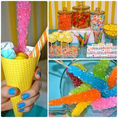 Candy Buffet Jars for Cheap | candy buffet DIY