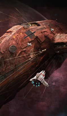 Incredible Science Fiction Digital Illustrations by Marc Simonette
