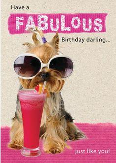 Have a fabulous birthday, darling (thortful.com)