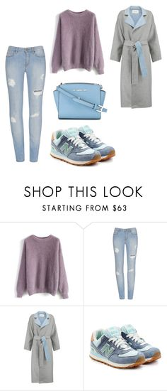 """база просто база"" by lerka-panterka on Polyvore featuring мода, Chicwish, 10 Crosby Derek Lam, New Balance и MICHAEL Michael Kors"