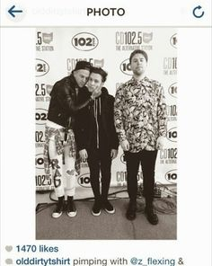 zach abels, the neighbourhood, and jesse rutherford