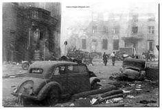 A devastated Koenigsberg after the Germans surrendered in April 1945