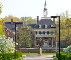 Miami University in OHIO.  Spent many years on this campus with Dick.