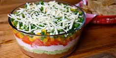 7 layer Dip- the healthy way