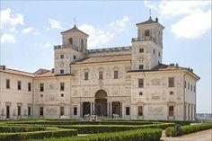 Villa Medici, Rome built 1576  by Ferdinando de' Medici (1549-1609) - it is now the French Academy