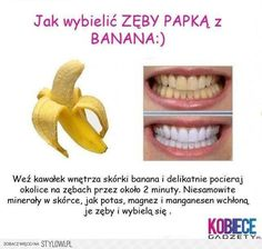Remedies For Whiter Teeth Wanna Know Another Easy Tip For Whiter Teeth? Rub A Banana Peel On Your Teeth Everyday :) - Wanna Know Another Easy Tip For Whiter Teeth? Rub A Banana Peel On Your Teeth Everyday :) Beauty And More, Health And Beauty Tips, Health Tips, Nutrition Tips, Health Benefits, Do It Yourself Baby, Do It Yourself Fashion, Homemade Beauty, Diy Beauty