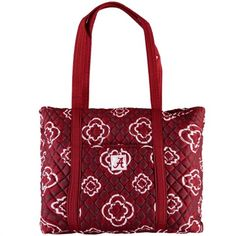 The Honour Society Alabama Crimson Tide Women's Quilted Tote Bag