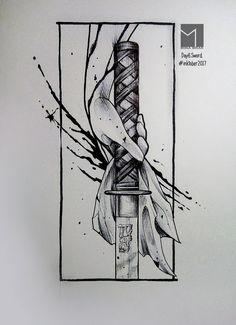 #inktober2017 #inktober  #inktober2017day6 #sword