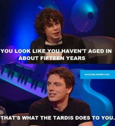 John Barrowman, everyone. <--- And we can all thank Rose/Bad Wolf for that.